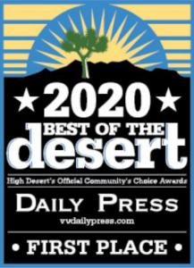 Option One Solar best of the desert award 2020
