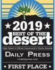 Option One Solar best of the desert award 2019