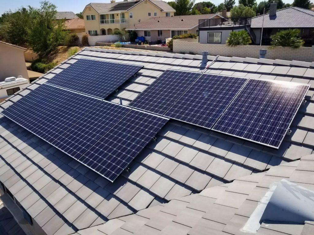 Option One Soalr solar roof installation