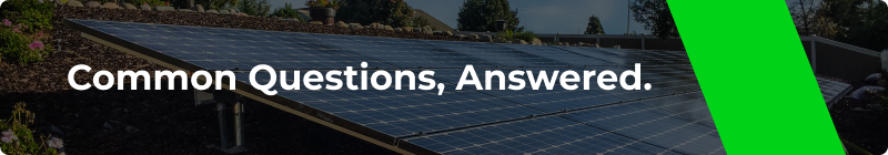 Common Solar Questions - Option One Solar