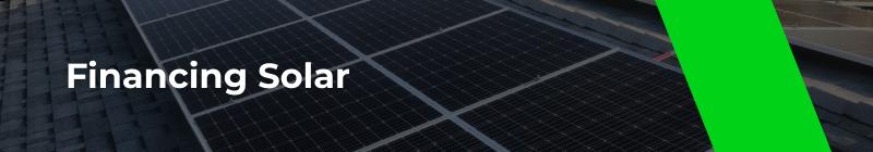 Financing Solar - Option One Solar