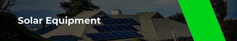 Solar Equipment - Option One Solar