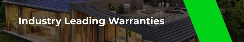 Solar Industry Leading Warranties - Option One Solar