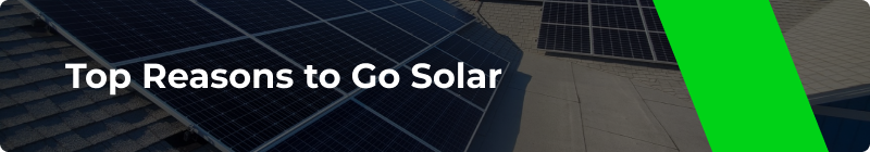 Top Reasons to Go Solar - Option One Solar
