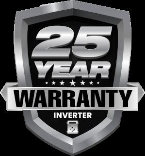 25 Year Inverter Warranty