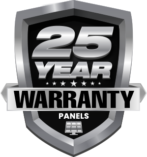 25 Year Warranty on Solar Panels